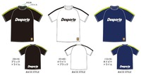 【予約受付中】Desporteプラクティスシャツ