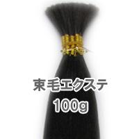束毛タイプ 人毛 エクステ 100g