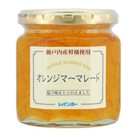 瀬戸内産柑橘使用オレンジマーマレード 塩入