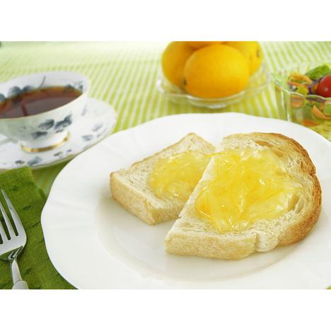 レモンマーマレード トースト 紅茶