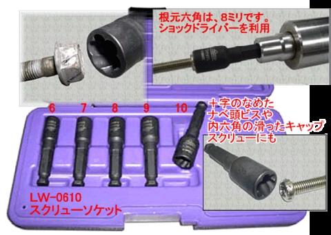 HASCO(ハスコー) LW-0610 スクリューソケット(スモールサイズ) 送無税込特価!!