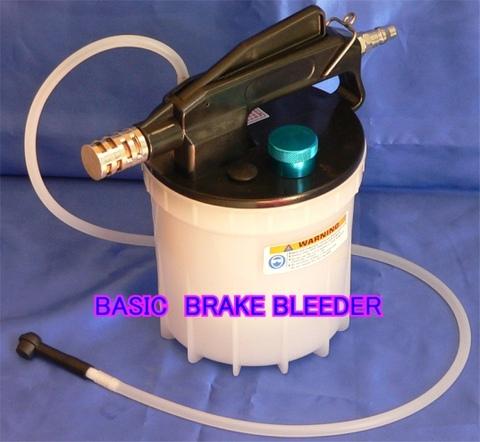 台湾の良品 BASIC BRAKE BLEEDER エアーコンプレッサー利用のブレーキのエアー抜き装置 税込特価!!