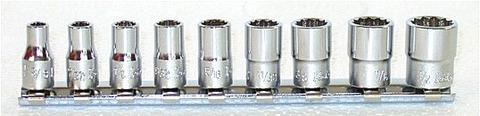 コーケン(Ko-ken) RS2405A/9 12角インチソケットセット 1/4(6.35mm)sq 代引発送不可 税込特価