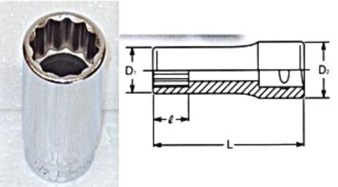 コーケン(Ko-ken) RS2305A/9 12角インチソケットセット 1/4(6.35mm)sq 代引発送不可 税込特価