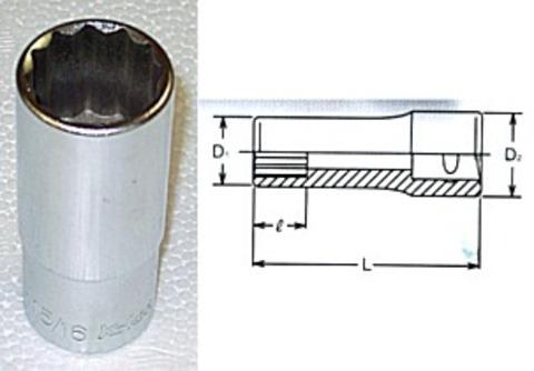 コーケン(Ko-ken) RS4305A/10 12角ディープソケットセット 代引発送不可 税込特価
