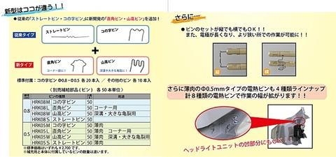 アサヒ(ASAHI) HRK-650-SET ヒートリペアキット 送料無料 税込特価
