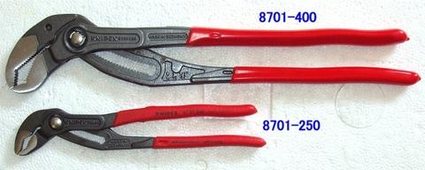 """クニペックス(KNIPEX) 8701-400 ウォーターポンププライヤー""""コブラ"""" 税込特価"""