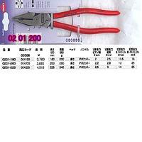 0201-200 クニペックス 強力型ペンチ