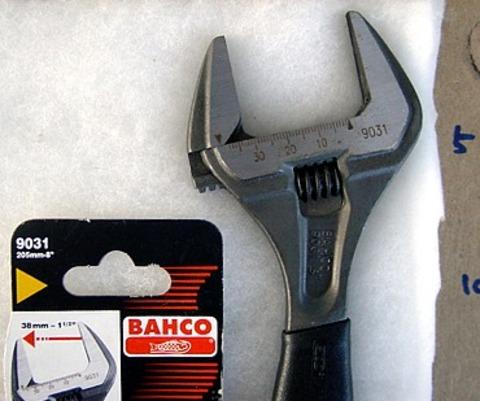 バーコ(BAHCO) 9031 アジャスタブルレンチ(モンキーレンチ) 代引発送不可 税込特価