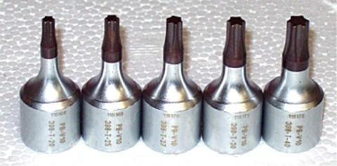 ピービー(PB) V10-398/SET ヘクスローブ(トルクス)ビットソケットセット (ショートタイプ穴なし) 代引発送不可 税込特価