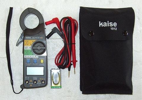 カイセ  AC/DC デジタルクランプメーター