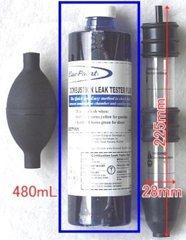 BluePoint GDCT-161 ヘッドガスケットリークテスター用消耗品 リーク試験液480ml 税込即納特価!!