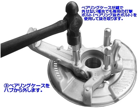 江東産業(KOTO) KTH-200 フロントハブ分解ツール ハイエース用ハブプーラー 代引発送不可 送料無料 税込特価