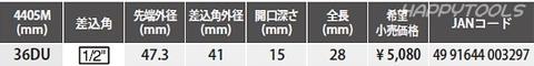 Ko-ken(コーケン) 4400M-41DU,46DU,4405M-36DU,55DU 二輪車用専用工具リヤホイールナットソケット ドゥカティ用 税込特価!!