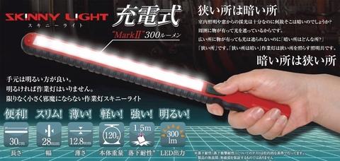 SLB12N 充電式スキニーライト