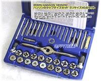 ハンソン(HANSON) 1835092 タップダイスセットミリサイズM3-M12 送料無料 税込特価