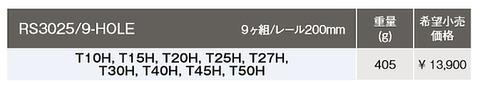 コーケン(Ko-ken) RS3025/9-HOLE T型いじり止めトルクスビットセット 代引発送不可 税込特価