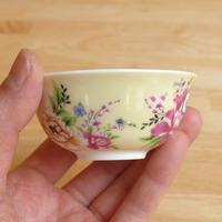 茶杯 客家花布(黄)