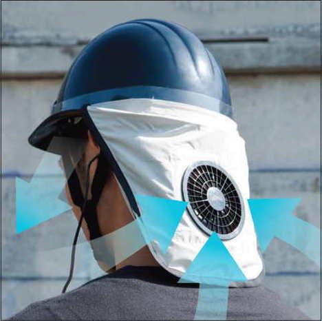 HMAC02空調ヘルメット