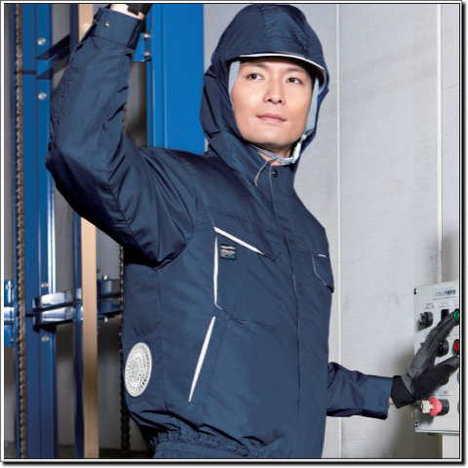 KU90480フード混紡空調服™
