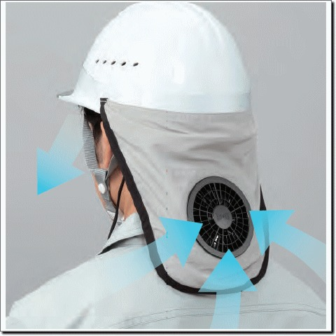 空調ヘルメット®02