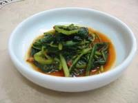壬生菜キムチ200g入りです。