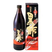 健康フーズ かめつぼ造り純玄米黒酢 900ml
