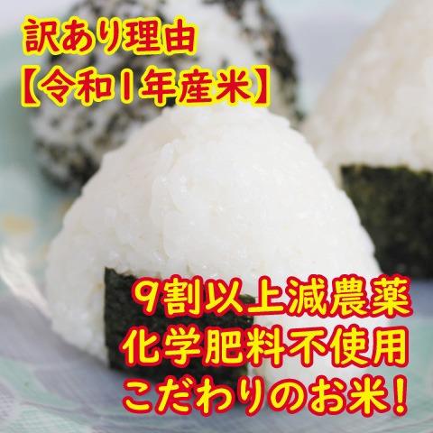訳あり【令和1年産】藤島型特別栽培米コシヒカリ(白米・7分・玄米) 5kg