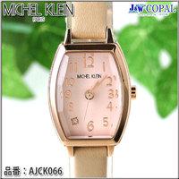 ミッシェルクラン・レディース腕時計・AJCK066【ベージュ】