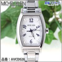 ミッシェルクラン・レディース腕時計AVCD028【ホワイト】<ソーラーウォッチ>