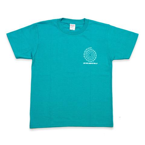 愛と笑いヨガジャパンTシャツ グリーン