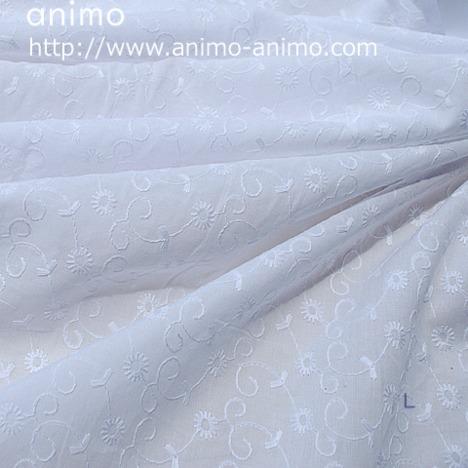 【超割引価格】広巾 エンブロイダリーレース(カットワーク無し)5類