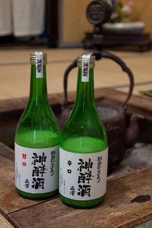 能登どぶろく神酔酒(みよいざけ)辛口・甘口500ml 2本セット