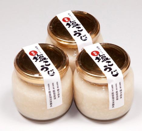 能登塩こうじ200g壜入×3本