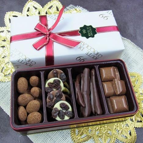 4種類のショコラアソートメント