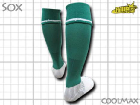 CoolMAX採用 コンプレッションソックス 緑 S or M or Lサイズ