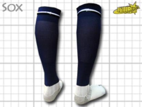 CoolMAX採用 コンプレッションソックス 紺 S or M or Lサイズ