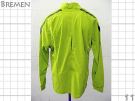 【選手仕様】 2011 ブレーメン シェルトップ(黄緑) NIKE製