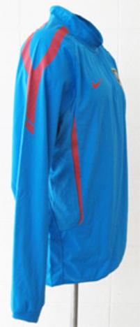 【フォルラン移籍記念割引】 2011 アトレチコ・マドリード シェルトップ(水色) スポンサー無=CL用 NIKE製 【選手仕様】