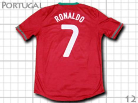 ポルトガル代表 ロナウドなどオフィシャルネーム&ナンバー対応
