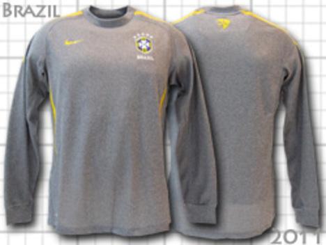 ブラジル代表 トレーニングトップ