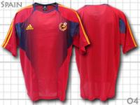 2004 スペイン代表 トレーニング