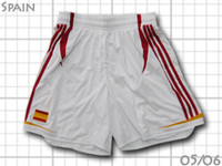 05/06 スペイン代表 アウェイ用パンツ