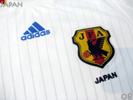 2008 日本代表 アウェイ