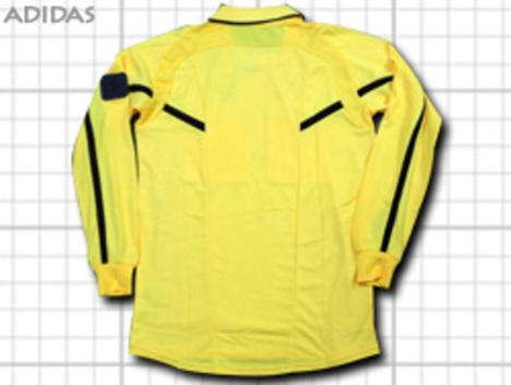 【4148円+税】 adidas レフリージャージ・長袖・黄色