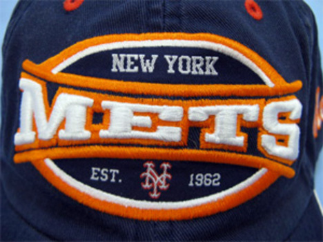 ニューヨーク・メッツ レトロキャップ 紺
