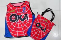 ユニフォームと同デザインのバッグ