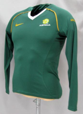 【4着セール対象】 06/07 オーストラリア代表 トレーニング(緑) 女性用 長袖 NIKE
