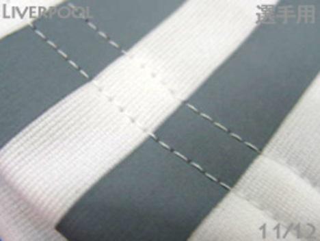 【4着セール対象】 11/12 リバプール 選手用・パンツ 白 adidas