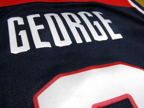 【オーセンティック】 バスケ・アメリカ代表 8番:ポール・ジョージ Away(紺) NIKE